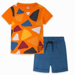 Completo Due Pezzi Jersey Arancio Wild Side Abbigliamento