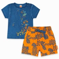 Completo due Pezzi Jersey Azzurro Wild Side Abbigliamento