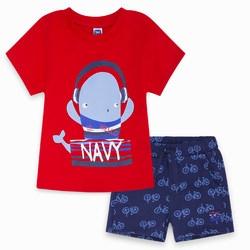 Completo due Pezzi Rosso Sea Riders Abbigliamento