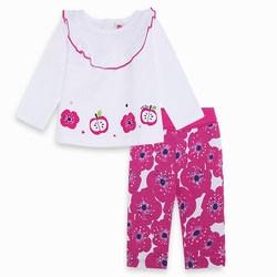 Completo Due Pezzi Bimba Rosa Delicious Abbigliamento