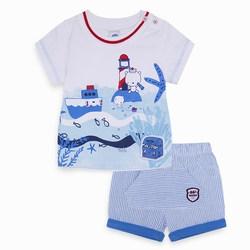 Completo Due Pezzi Azzurro Sun And Sea   Abbigliamento