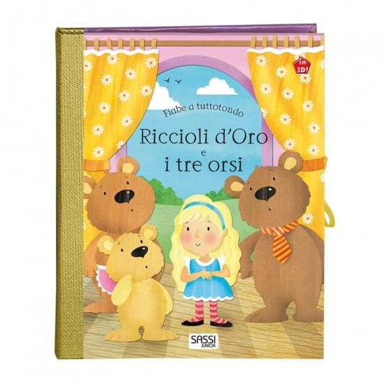 Riccioli d'Oro e i tre Orsi Fiabe Tuttotondo Libri