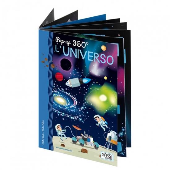 Pop-up 360° L'universo Libri