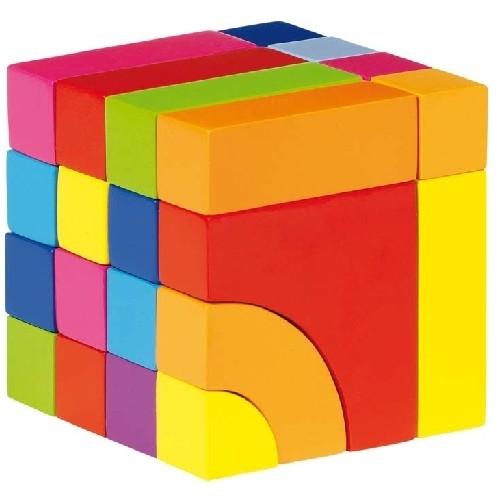 Cubo costruzioni  24 pezzi Giochi