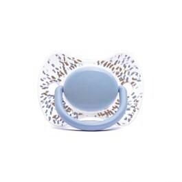 Succhietto fisiologico haute Couture azzurro 0-4 m succhietti