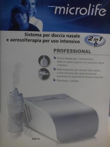 Microlife Aerosol a pistone con doccia nasale Aerosol