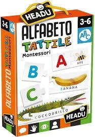 Alfabeto Tattile Montessori Giochi