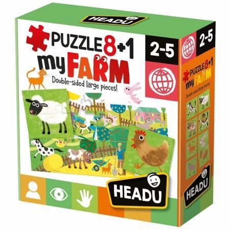 Puzzle 8+1 Farm Giochi