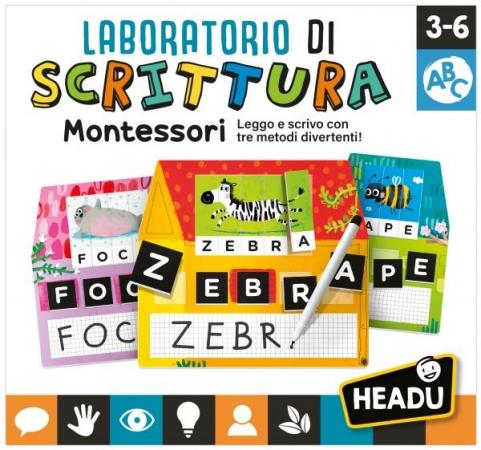 Laboratorio di Scrittura Montessori Giochi