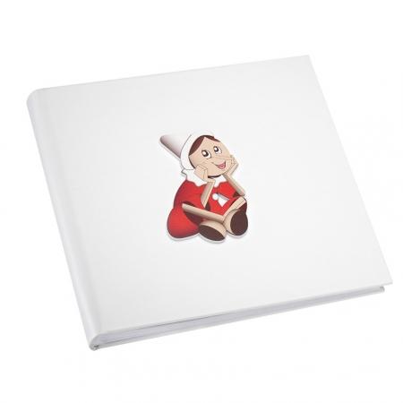 Mendozzi Album 30x30 Pinocchio Rosso Album portafoto