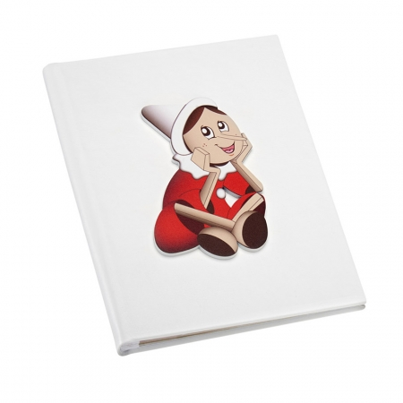 Mendozzi Diario Nascita Pinocchio Rosso Album portafoto