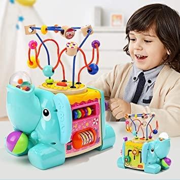 Top Bright 5 in 1 Cubo di attività con Labirinto Giocattoli Giochi