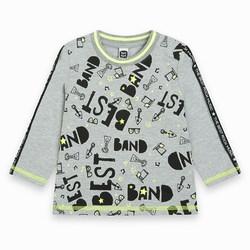 Tuc Tuc Maglietta Glow InThe Dark Bambino Grigia The Best Band Abbigliamento