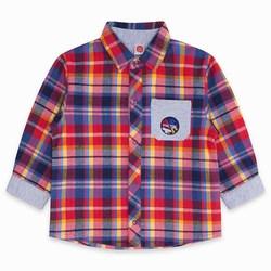 Tuc Tuc Camicia a Quadri Bimbo School Of Art Abbigliamento
