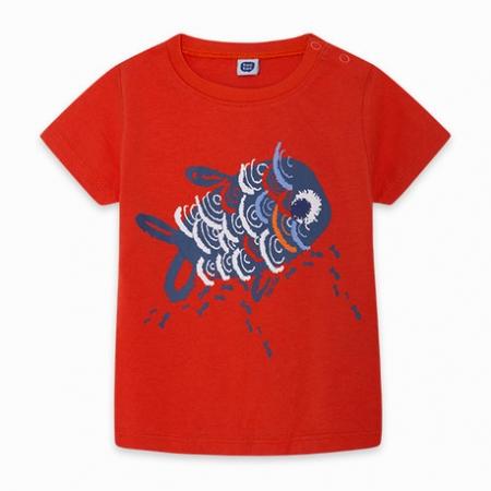 Tuc Tuc Maglietta Rossa Abbigliamento