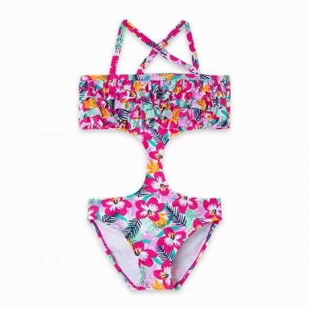 Tuc Tuc Trikini a Fiori Abbigliamento