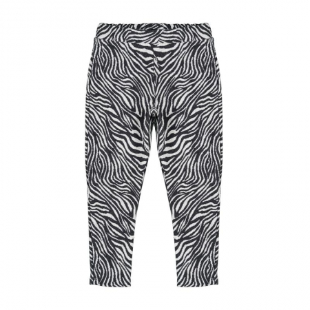 Nanan Pantalone con Stampa Zebrata Abbigliamento