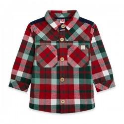 Tuc Tuc Camicia Quadrettata Bimbo Abbigliamento