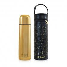 Deluxe Thermos Oro con borsa isotermica Thermos