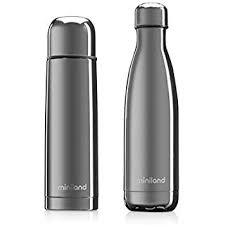 My Baby & me set Silver Thermos